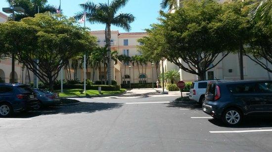 Hilton Naples : frontansicht