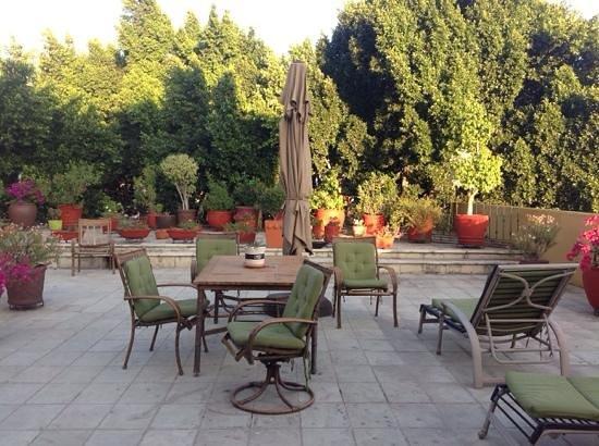 Hotel Aitana: terraza del hotel