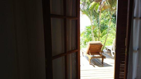Pousada Tagomago Beach Lodge: Habitación 6, excelente.