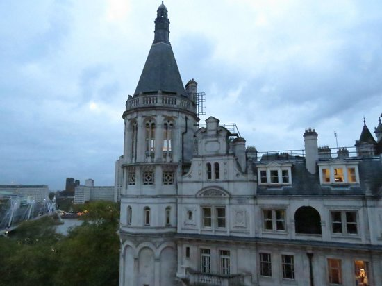 Corinthia Hotel London : View from our Deluxe King Room