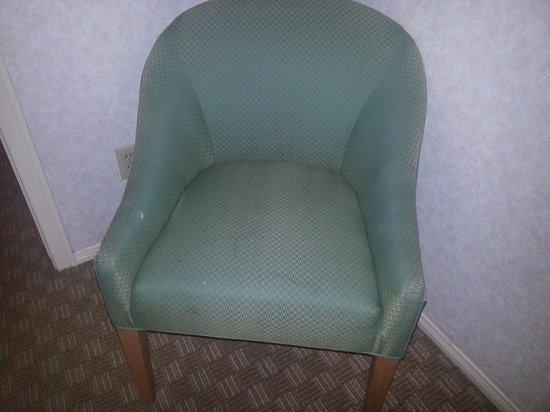 Welk Resort San Diego: Mystery stained chair