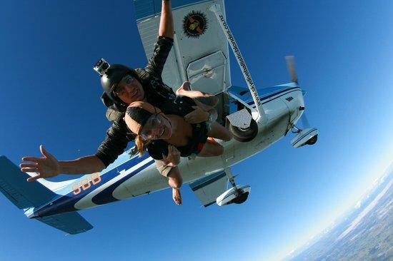 Skydive Ballistic Blondes: FREE FALLING