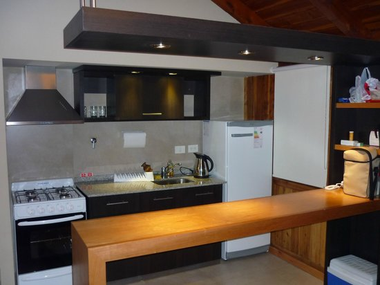 Monasterio Hotel Boutique: Cocina Cabaña 301