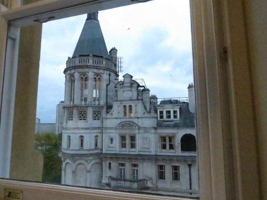Corinthia Hotel London : View from Deluxe King Room - Showing Double Window