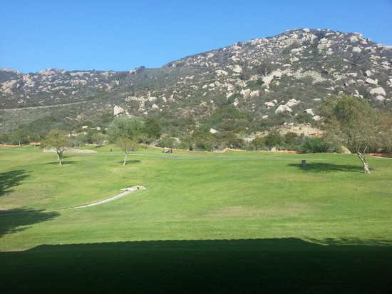 Welk Resort San Diego: Nice view from the patio!