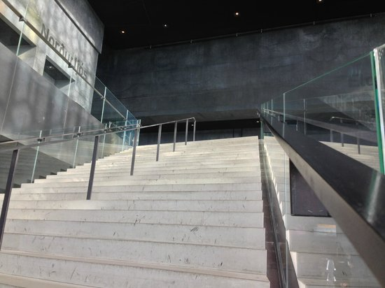 Harpa Reykjavik Concert Hall and Conference Centre: The interior's master stair case