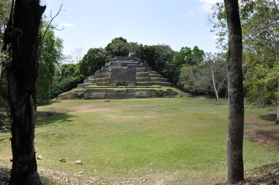 Lamanai Archaeological Reserve: One of the three temples