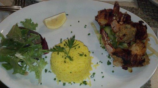 Marek's Bar and Bistro: Crab Stuffed Jumbo Shrimps