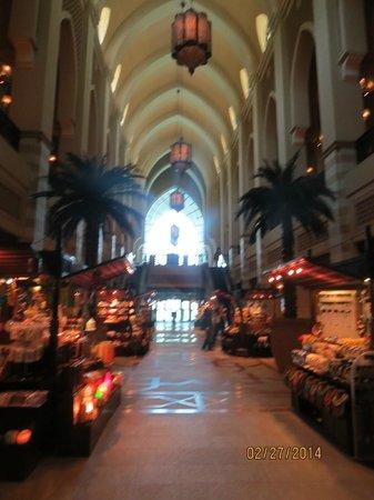 Souk Al Bahar: Corredor do Souk