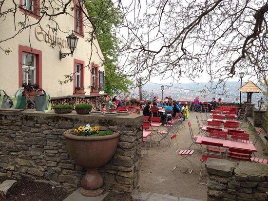 Schutzenhof: Biergarten