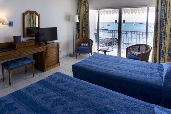 Le Beach Hôtel: ocean view room