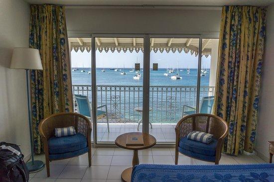 Le Beach Hôtel: ocean view