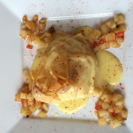 Mtn Laurel Creek Inn & Spa: Amazing gourmet breakfast!
