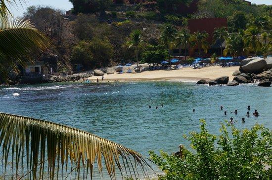 Las Brisas Huatulco : Snorkeling beach