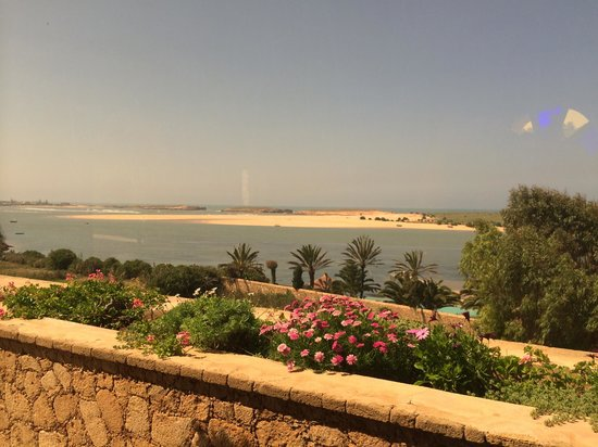 La Sultana Oualidia: View towards the ocean from the Pirate suite