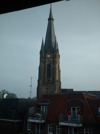 Hotel Kloppenborg: Вид из окна