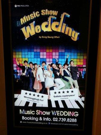 Hongdae NANTA Theatre : Music Show Wedding