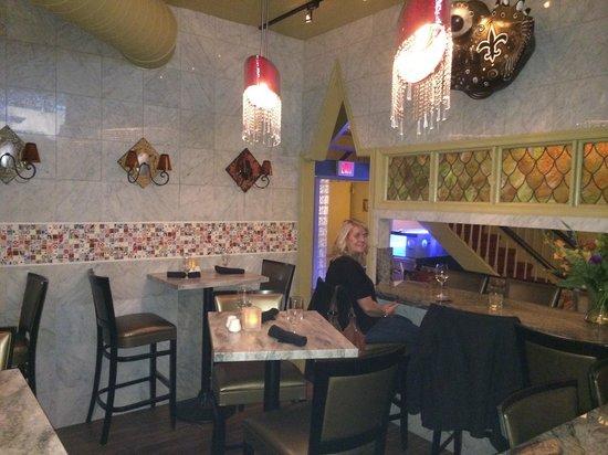 Marsha Brown's : Renovated bar area