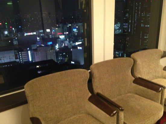 Keio Plaza Hotel Tokyo: salon para descansar