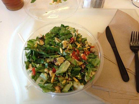 Half Moon Creative Salads: Half Moon salad bowl