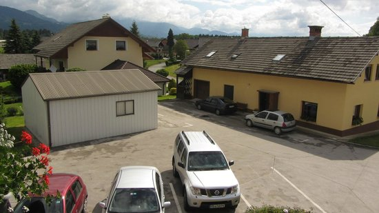 Sobe Jana: вид с балкона