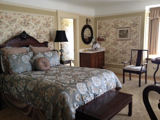 Jackson Court San Francisco: Oriental room, big bright room on the top floor