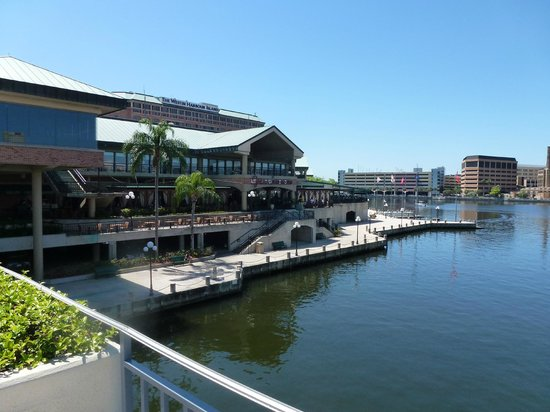 The Westin Tampa Waterside View From River Walk