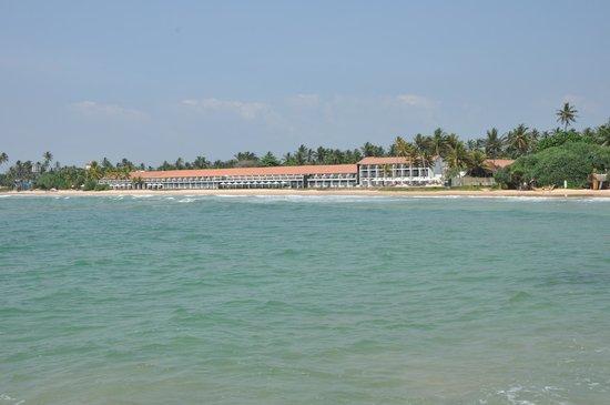 The Surf Hotel: Вид с океана