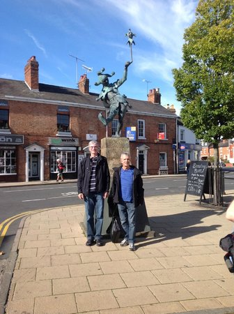 The Jester : Another symbol of Stratford-upon-Avon in England