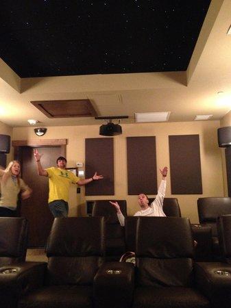 Grand Lodge on Peak 7: indoor movie theater