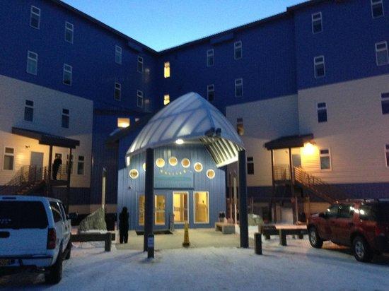 Nullagvik Hotel: Hotel Entrance
