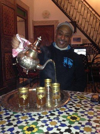 Dar Hafsa : Hospitalidade Marroquina: Chá de Menta