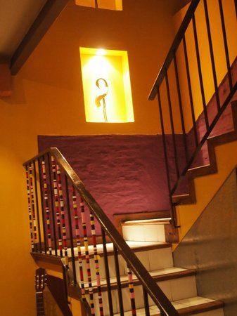 Solar Soler Bed & Breakfast: Stairs to Rooms