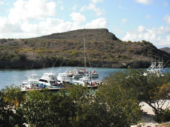 Santa Barbara Beach & Golf Resort, Curacao : View from 1442