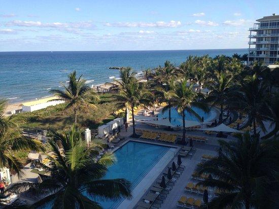 Boca Beach Club, A Waldorf Astoria Resort : View from room