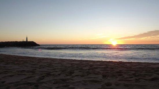 El Cid Marina Beach Hotel : El Cid Marina beach at sunset