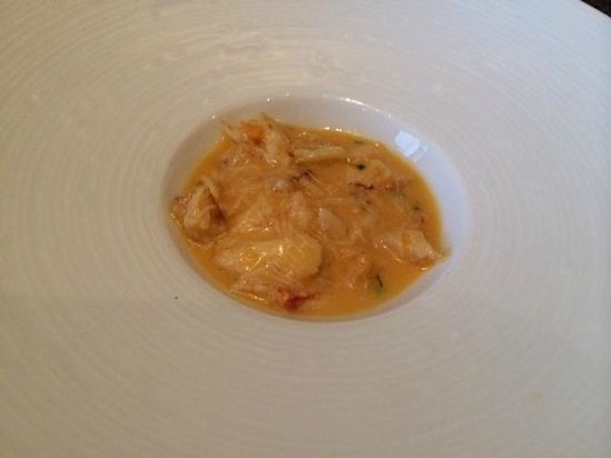 Colicchio & Sons Tap Room: crab soup