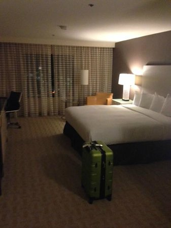 Hilton Los Angeles Airport: Executive King Suite at $119.00