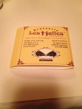 Les Halles : Napkin Holder (Keep Sake)