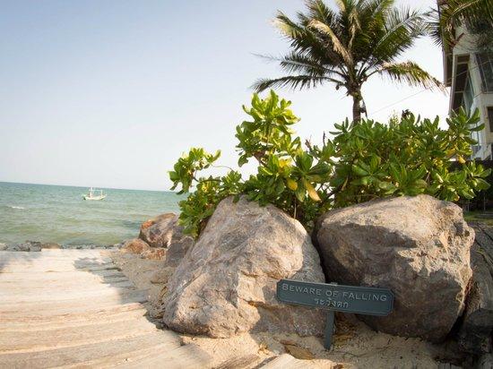 Devasom Hua Hin Resort: Sea view
