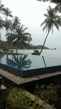 Seavana Beach Resort Koh Mak: Nice swimming pool overlooking the beach