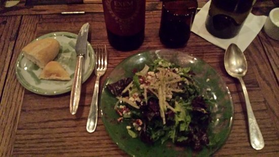 Rise no. 1: The house salad was very good