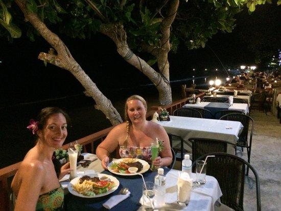 Sala Bua & Lo Spuntino Restaurant : Steaks with BBQ prawns