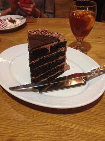 Dobyns Dining Room: Ten layer cake