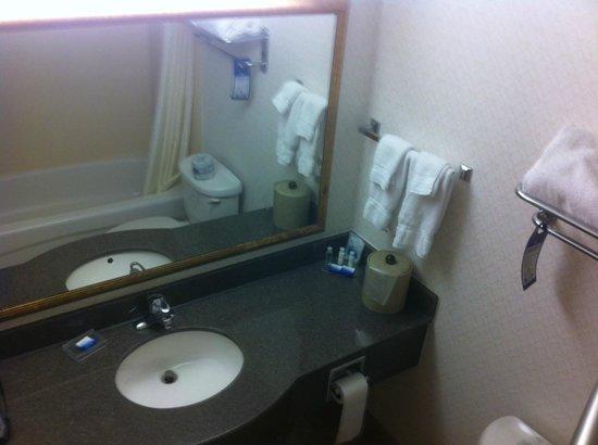 Best Western Plus Burlington Inn & Suites : Bathroom