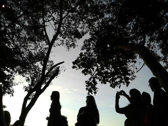 Toca do Morcego: Impossível não registrar o sol indo embora...