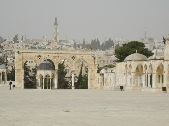 Mont du Temple : View from Temple Mount/Haram Al-Sharif