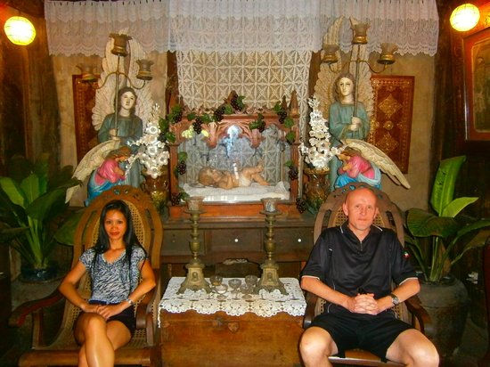 Yap Sandiego Ancestral House: Surrounded by interesting artefacts