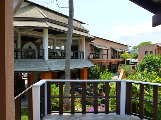 Saboey Resort and Villas : Balcony