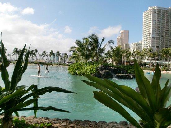 Hilton Hawaiian Village Waikiki Beach Resort : ラグーン